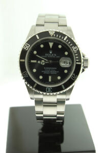 "Rolex Submariner Date Steel No Holes Case ""Z"" Serial 2007 16610"