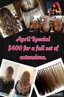 Pure Luxury Hair Extensions & Professional Makeup Services