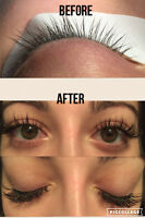 Eyelash Extensions-Valentines Special!! Set for price of fill!!