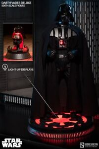 STAR WARS SIDESHOW DARTH VADER DELUXE EXCLUSIVE
