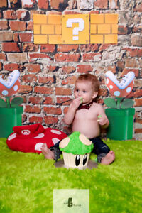 CAKE SMASH!!! 1st Birthday is complete with a cake smash session