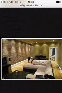 Grand appartement style loft,Pointe St-Charles