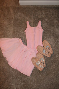 Girls Size 6 Ballet Outfit & 2 Pairs of Slippers - $45 OBO Cambridge Kitchener Area image 1