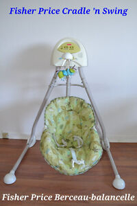 Fisher Price Berceau-balancelle. Fisher Price Cradle 'n Swing