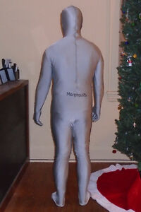 Silver Morphsuit (Adult - Size: XXL) (Can fit L & XL) London Ontario image 5