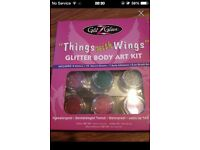 THINGS WITH WINGS GLITTER ART BODY KIT