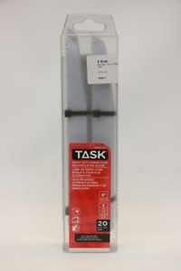 """**20 PIECE** Task T23202-20 Reciprocating Saw Blades 9""""(#14341)"""