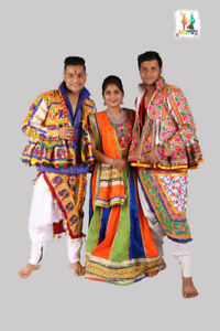 Navratri Traditional Wear for Men & Women- Kediya, Chaniya Choli