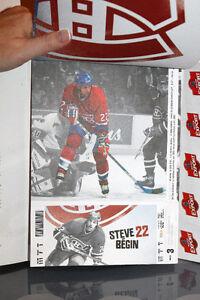 CANADIENS DE MONTRÉAL 2004-2005 NHL Billets Tickets Booklet West Island Greater Montréal image 8