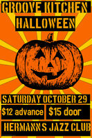 Hallowe'en Dance with funk-soul band Groove Kitchen