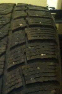 FOUR. 205/55/16. GOODYEAR tires.  $50