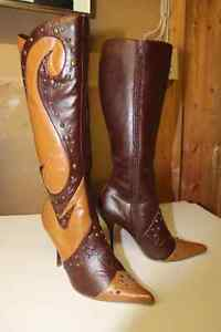 Michael Antonio Boots - 2 pairs (5 or 5.5 or 6) London Ontario image 1