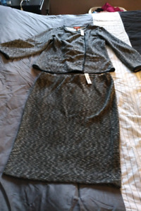 Ladies two piece skirt and blazer brand new with tags