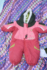 Manteau d'hiver bébé fille 6 mois