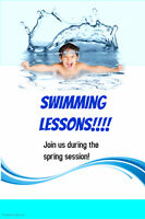 Private or semi private swimming lessons Kids and Adults