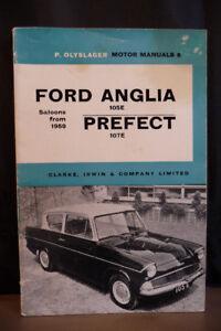 Ford Anglia 105E Prefect 107E P.Olyslager Motor Manual