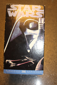 Star Wars VHS Trilogy