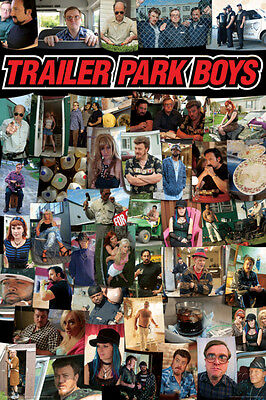 Trailer Park Boys- Collage Poster Print, 24x36