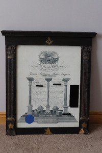 Masonic Frame
