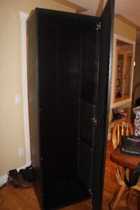 Beautiful black brown cabinet like new