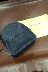 ***LOUIS VUITTON CUP GENUINE LEATHER DAMIER INFINI BACKPACK***