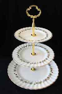 ROYAL DOULTON 3 TIERED CAKE STAND