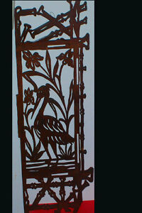 RARE WOOD VICTORIAN CARVED FRETWORK PANELS