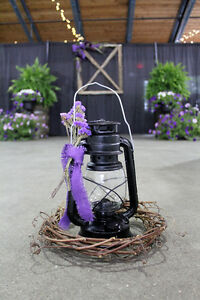 Rustic/ Vintage style lantern for wedding/ BBQ/ events
