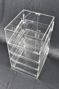 4 Tray 5mm Acrylic Bakery Muffin Donut Pastry Display Cabinet Melbourne CBD Melbourne City Preview