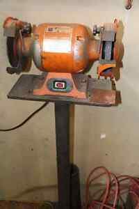 """6"""" Table grinder and stand"""