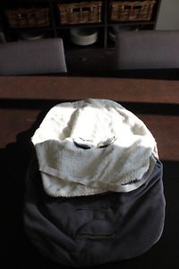 car seat cover and cozy