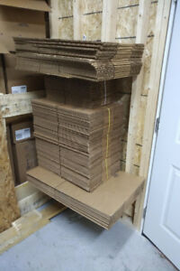 Assorted New Boxes, 12x12x4, 20x14x6, 10x8x4