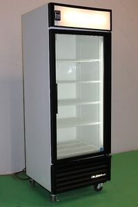 1 GLASS DOOR FREEZERS AND COOLERS TRUE GDM 26F & TRUE GDM 26