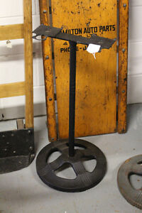 Antique Cast Iron Ford Gumball Candy Double Stand NEW PRICE