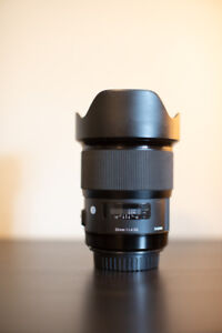 Sigma 20mm Lens (Canon Mount)