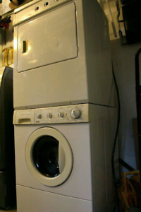 Fridgidaire front load washer and dryer