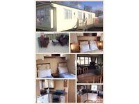 Primrose valley Prestige 8 berth caravan for hire 23rd July