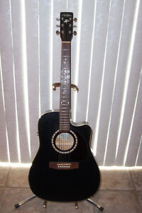Art & Luthrie CW Cedar Acoustic/Electric Guitar