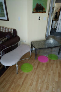 Bench and Table ***Please see EACH ITEM PRICE ***