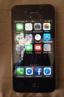 iPhone 4 16gig débloquer avec tout les compagnies