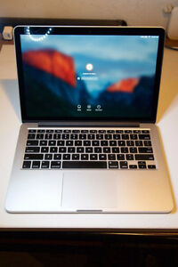 Retina MacBook Pro13.3+220 battery cycle(Oct 2013) 256gbSSD