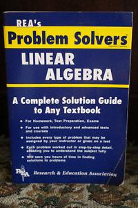 REA's Problem Solvers: LINEAR ALGEBRA