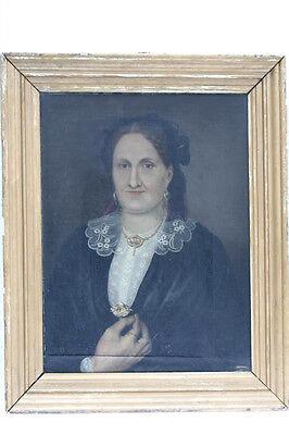 Porträt einer Frau, wohl Berlin, um 1840