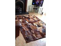 Horses hair rug large