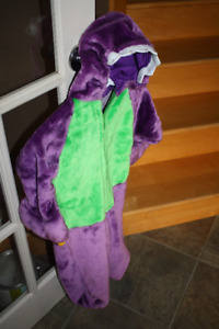 Dinosaur costume (warm) for 2 - 4 year old