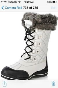BRAND NEW IN BOX Cougar Charm Mid Shaft Winter Boot Size 8 Kitchener / Waterloo Kitchener Area image 1