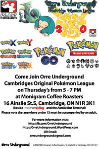 Orre Underground Pokemon Club Cambridge Kitchener Area image 1