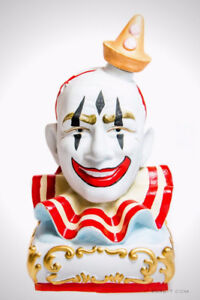Limited 1979 Decanter 'CLOWN #3 PAGLIACCI - Pierot White Face
