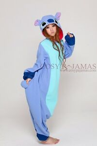 Stitch adult onesie