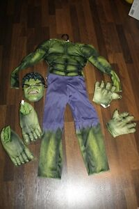 Hulk costume size medium